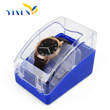 Hot Selling OEM Beautiful Printed clear plastic jewelry box, clear plastic box