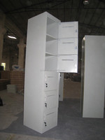 High grade Steel Furniture six door metal cabinet
