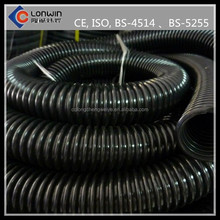 Large diameter carbon Bellows hdpe Cable Protection pipe and fittings
