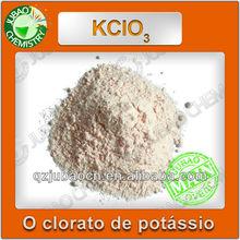 Venda clorato de potássio 99,5% Anti-aglomerante pó branco KCLO3 clorato de potássio