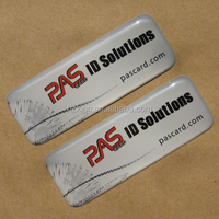Polyurethane domed decals labels,crystal stickers with digital printing
