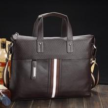 2015 Fashion Designer Man Leather Totes bag Factory price OEM