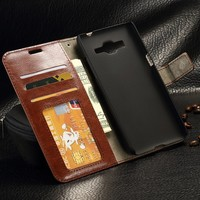 Flip Leather Wallet Phone Case For Samsung Galaxy Grand Prime G530H