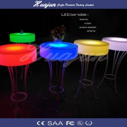Round Led Table Led Bar Furniture