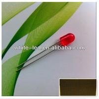 546 oval led red lamp p10 outdoor display screen led module /Sombrero de paja blanco de 5mm de LED