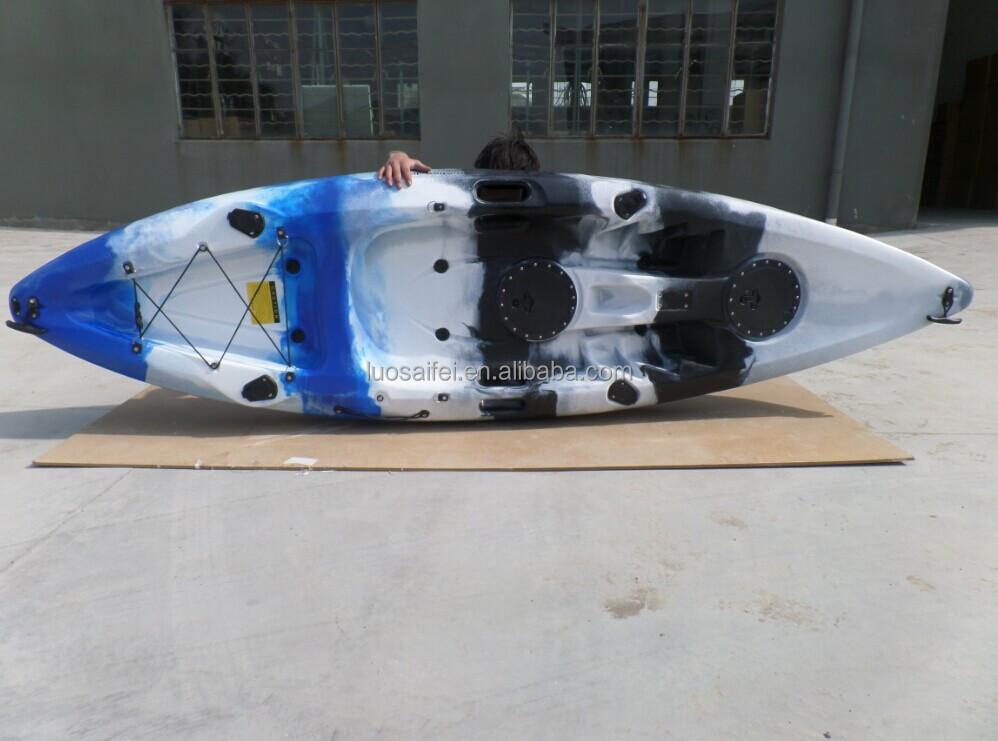Cheap single sit on top fishing kayak canno boat hot for Cheap fishing kayaks