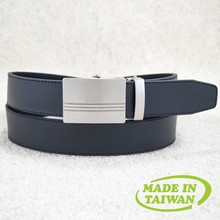New arrival automatic man black unisex simple plain leather belt