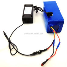 popular new product 48v lithium battery pack for electric scooter
