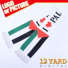 2015 latest design I love Palestine printed scarf, vote neck shawl