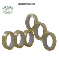 Outdoor waterproof bopp material low noise brown bopp gummed packing tape