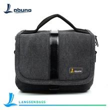 Fashion cheap oxford black camera bag