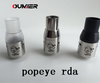 alibaba Top selling 7mm deep juice well Popeye atomizer clone mad hatter rda express
