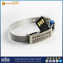 8GB Bracelet Diamante USB 2.0 Flash Disk / USB Flash Drive