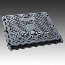 Composite Material Indoor/Outdoor Walkway Use Light Duty Square Manhole Cover