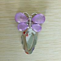 Metal cheap handmade butterfly gift bookmark