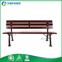 Shenzhen Factory Design Cheap Cast Iron Decorative Outdoor Benches