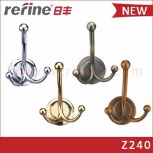 Zinc alloy coat rack hook