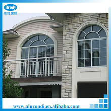 China aluminum double glass window
