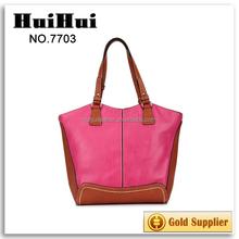 school bag dropship model leather women bag two sided shoulder bag