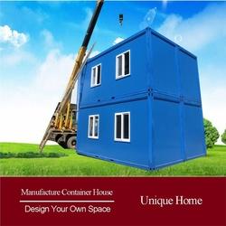 Friendly Prefabricated Glass Furnishing movable good design villa house