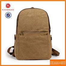2015 Canvas Leisure Traveller Bag Fashion Laptop Backpack Bag Wholesale
