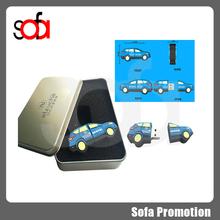 China factory price truck shape usb flash drive 16g
