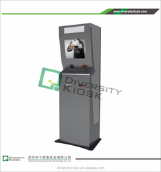 kiosk for ticket vending and payment small lcd kiosk