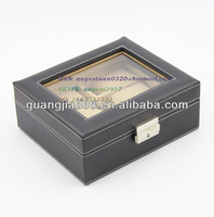 New type glass top watches box