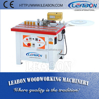 Stock Available Manual Double Side Gluing and Edge Banding Machine (HM-350B) For Straight and Curved Edge