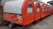 OEM 2014 CE ISO9001 approve newly converted burger van Fast Food Carts For Sale/Mobile Kitchen Van