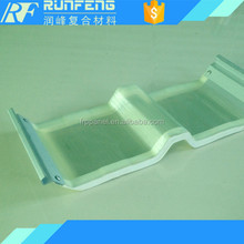 Popular building material used agriculture greenhouse FRP plastic sheet roof covering