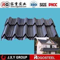 Galvanized steel shipping container roof
