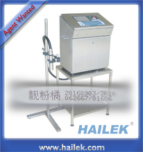 HAILEK 8300M cij ink jet printer marking packaging for beer expiry date coding