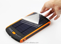 High capacity Notebook power supply laptop 23000mah solar panel power bank charger for laptop Smartphone