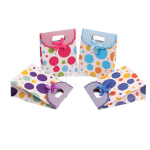 Fashion Polka Dots Small Favor Gift Bag Paper Bags Alibaba China (CZ-880)
