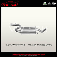 Professional hatchback exhaust muffler manufacture 1K0 253 209 C