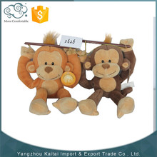 Hot selling promotional wholesale soft cheap monkey plush toys