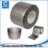 Self adhesive bitumen outdoor uv resistant waterproof tape