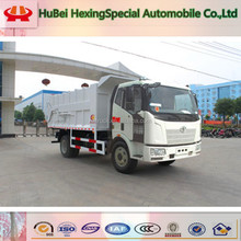 Jiefang 4x2 rear loader garbage truck manufacturers from china