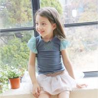 phelfish girl sweet beautiful t shirt china wholesale kids clothes girls t-shirt 2015 short sleeve t-shirts in stock 13858
