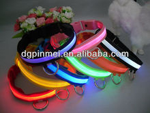 High quality flashing LED dog collar for pets