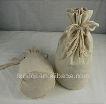 high quality hot sale Chinese promotional wholesale jute drawstring bags for wheat