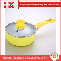 Hot Selling Aluminum ceramic 6pcs cokware set w wok/saucepot/frypan