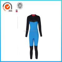 Custom Spearfishing Neoprene Blue Wetsuit