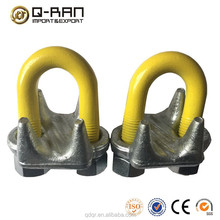 US Type Drop Forged Steel Wire Rope Clip--Qingdao Rigging