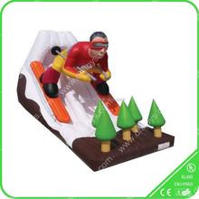 Hot Sale SpiderMan Inflatable Slide For Promotion