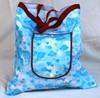 2014 Factory Wholesale drawstring mesh tote bag making sample for free