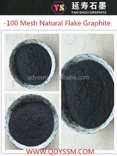 2015 Hot Sale 80%-99% carbon -100 Mesh Natural Flake Graphite, graphite powder