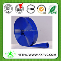 Food grade quality UV resist non-toxic expandable water delivery pvc layflat hose