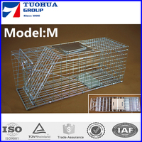 GI wire cat cage trap animal with out any hurt